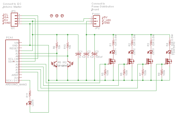 Obstacle Sensor Schematic