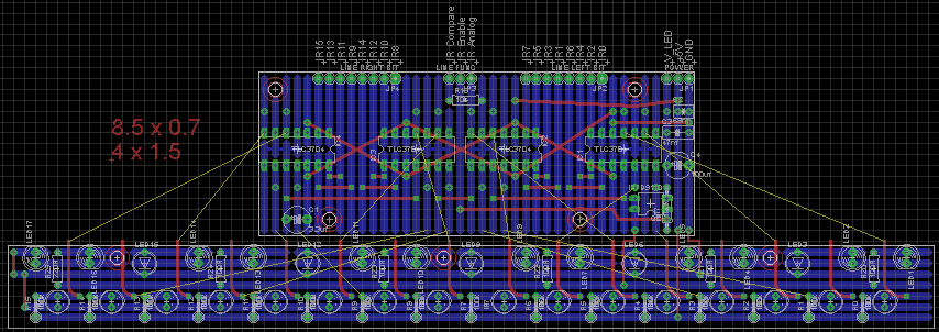 Line Detector Layout