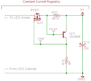 Protractor High Side LED Constant Current Regulator