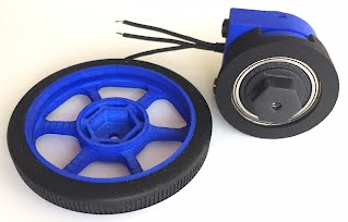 3D Printed Gearbox for Brushless Motor
