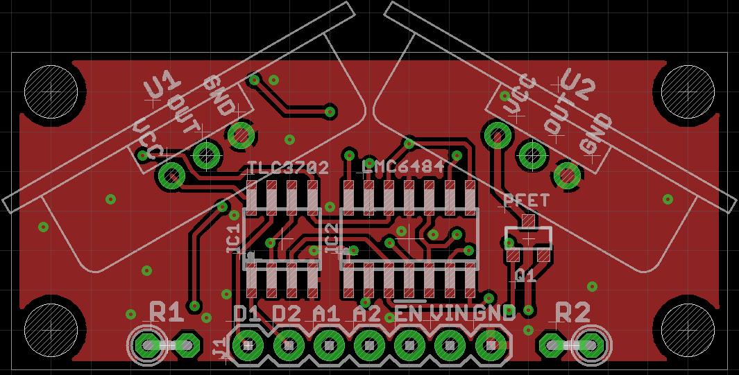 24GHz Doppler Radar Sensor Layout Top